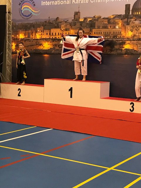 Karate Success for Amy in 2017!