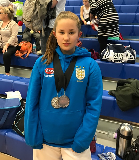 2 medals for Amy in the BSKI National Open